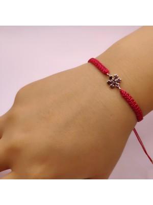 Snow Figure Makrome Bracelet