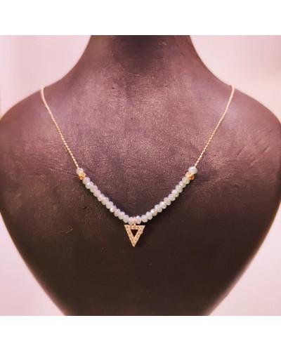 Üçgen Figürlü Kristal
