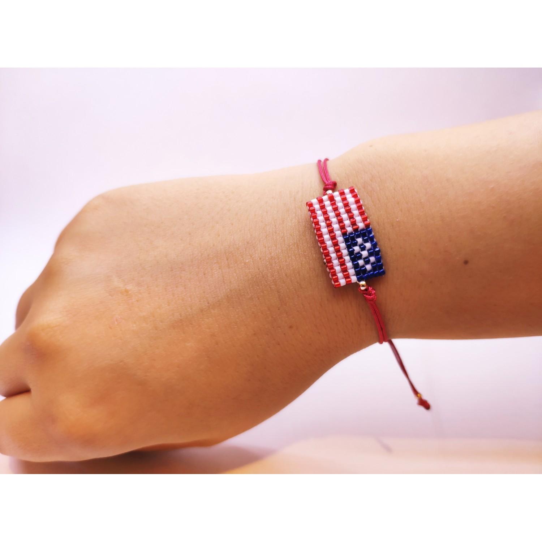 Miyuki Amerika Bayrağı